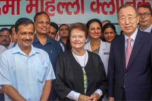 UN Secretary General 'deeply impressed' by Delhi's Mohalla Clinics project