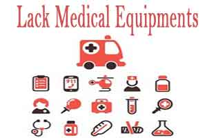 District Hospital lacks basic medical equipments