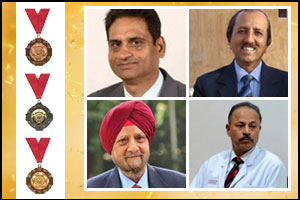 Four PGI Chandigarh Doctors Recommended for Padma Awards 2019