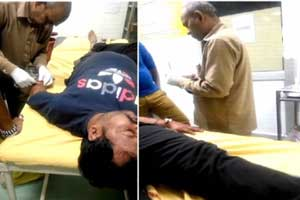 Caught on Camera: Haryana hospital peon stitching patients wound, Doctor sitting nearby