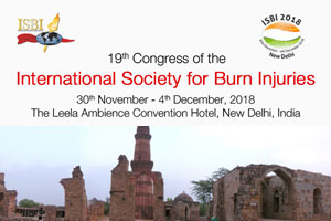 International Society for Burn Injuries Congress to be held in New Delhi