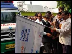 Delhi CM launches mobile medical service