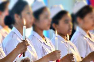 Guwahati: Nurses launch indefinite strike at GMCH and JMCH