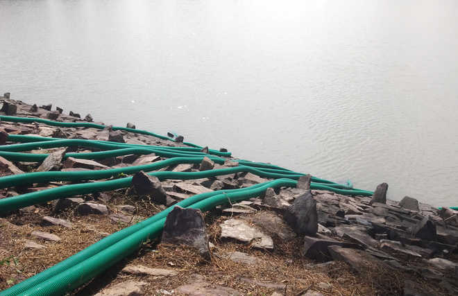 Shocking: HIV infected woman kills self in lake, villagers begin draining water