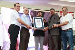 Apollo Hospitals Creates Guinness World Records by Forming Largest Human Image of Human Bone