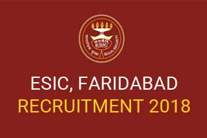 Walk in Interview: ESIC Hospital Faridabad Releases 15 Vacancies for Specialist and Super Specialist on Contractual Basis.