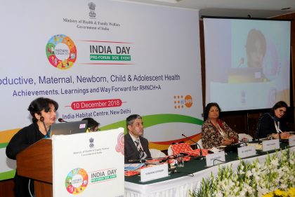 India Day: Health Ministry brings together partners and youth to share best practices from states