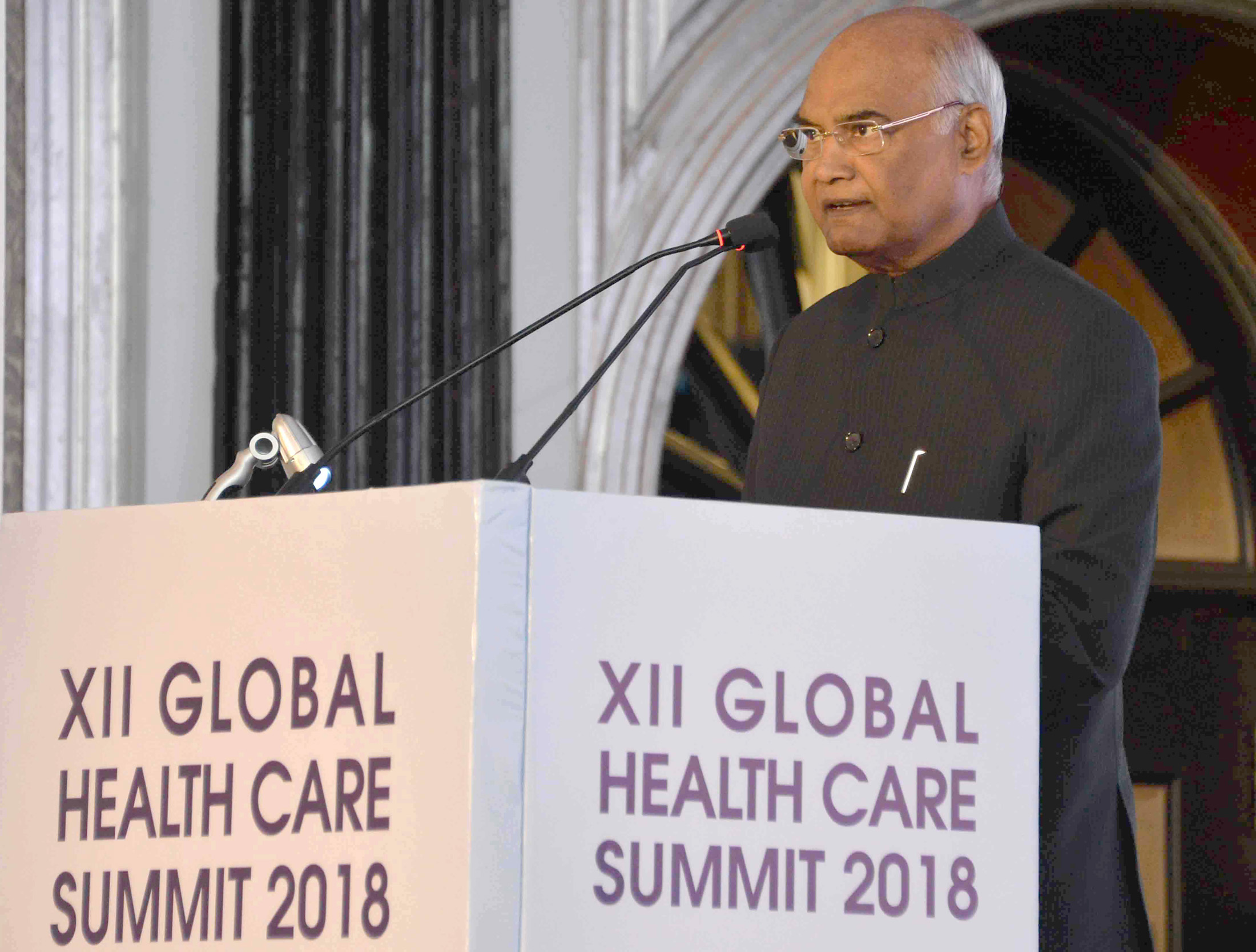 President lauds professionalism, reputation of Indian Origin doctors working in US