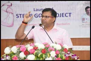 Goa Health Minister launches STEMI Goa Project