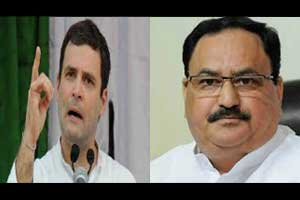 Ayushman Bharat: Its Nadda versus Rahul on Centre's health schemes