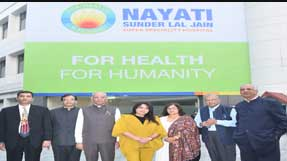 New Delhi: Nayati Healthcare to now run 200 bedded Sunder Lal Jain Hospital