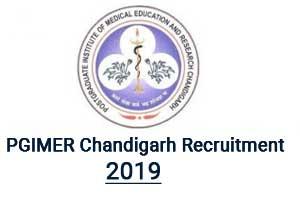 PGI Chandigarh releases 134 vacancies for Assistant Professor in Various Departments, Details