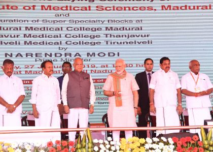 Brand AIIMS now taken to all corners of the country: PM Modi while laying foundation stone of AIIMS Madurai