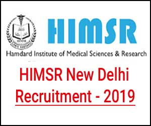 New Delhi: Hamdard Institute Medical Sciences releases Faculty vacancies, Details