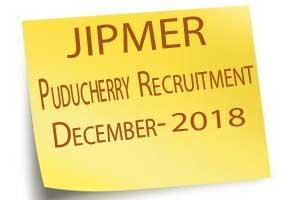 Walk in Interview: JIPMER Puducherry releases 48 vacancies for Senior Resident on Regular Basis