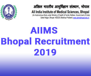 Walk in Interview: AIIMS Bhopal releases 31 vacancies for Tutor, Demonstrator, Details