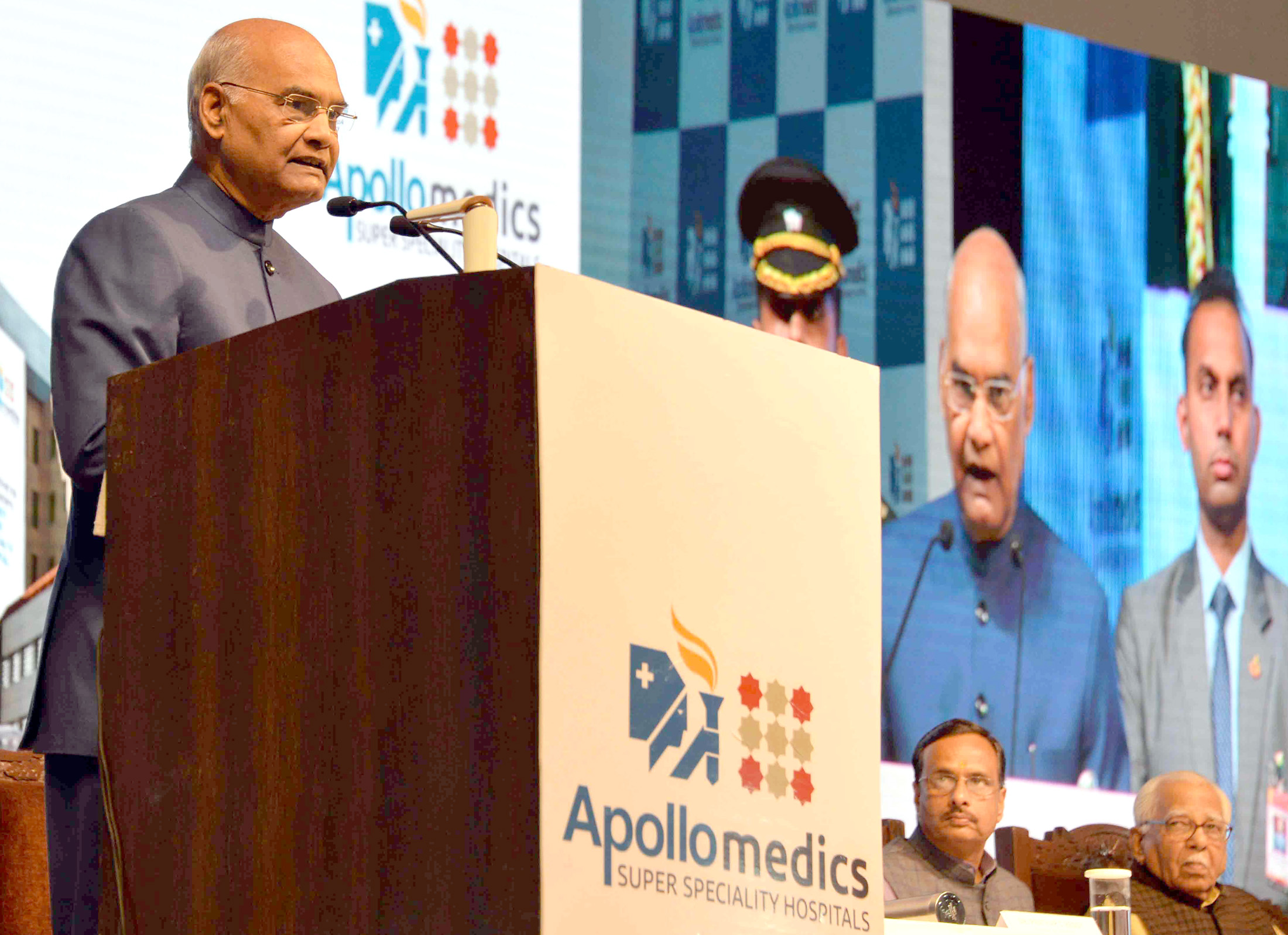 330 bedded Super Specialty Apollo Hospital inaugurated at Lucknow