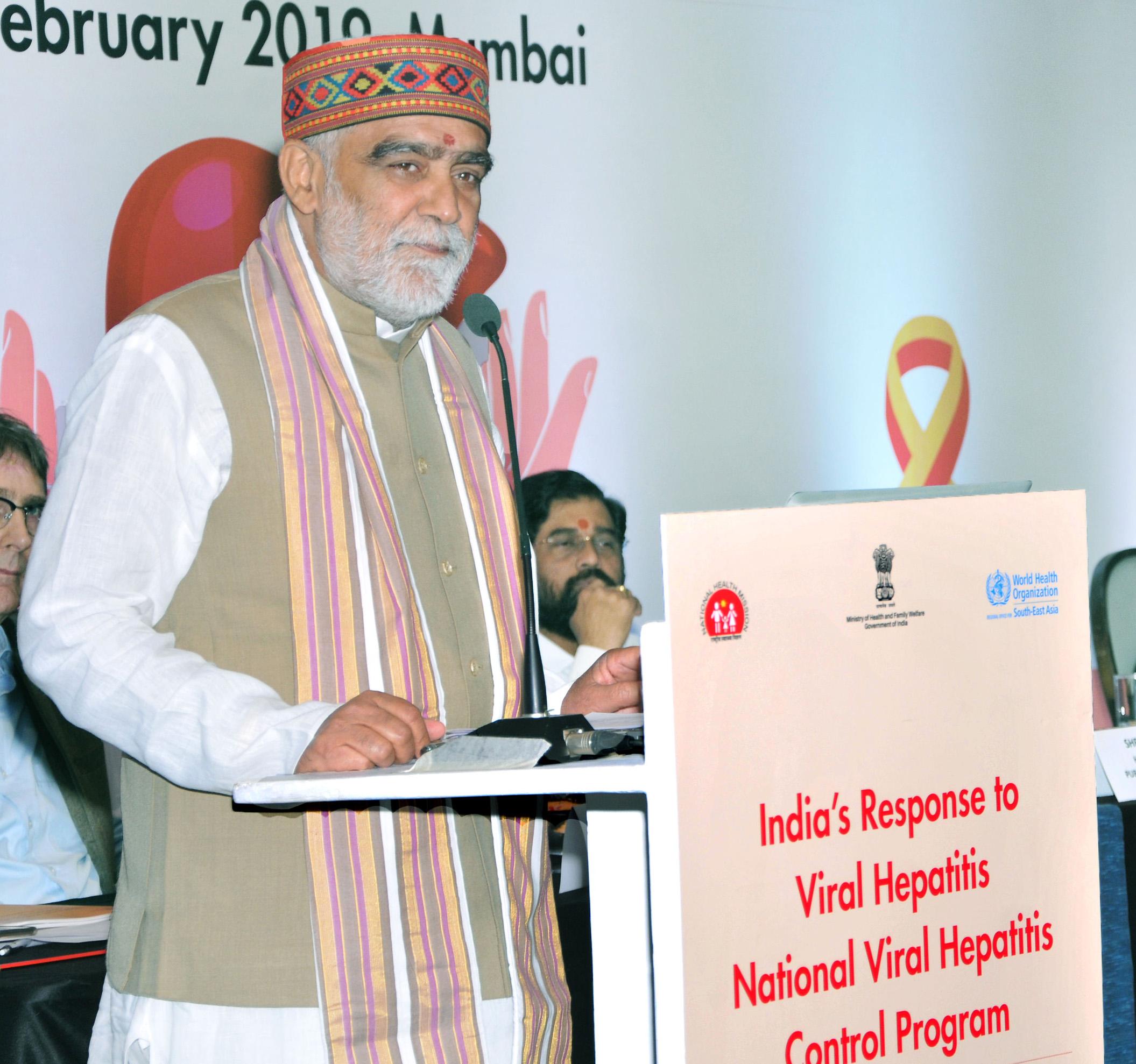 Union Minister Ashwini Choubey launches National Programme for eliminating Viral Hepatitis