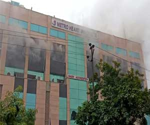 Noida: Major Fire Averted at Metro Hospital; Hospital to face action for No Fire Licence