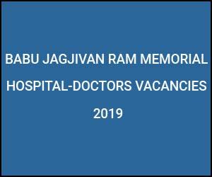 SR vacancies at Babu Jagjivan Ram Hospital New Delhi, Check out Details