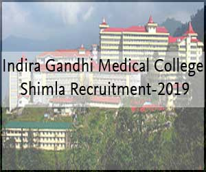 Walk in Interview: IGMC Shimla releases 81 vacancies for Senior Resident post, Details