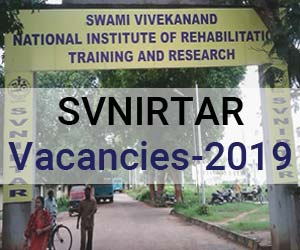 SVNIRTAR Odisha Releases 16 Vacancies for JR, SR and Consultant posts, Details