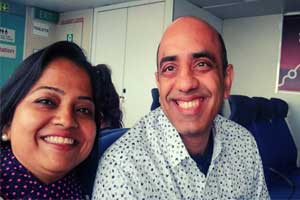 Bravo: Indian doctor-couple provides medication mid air, save 63 year Australian lady