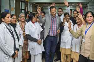 Delhi Govt begins Happiness Therapy at 5 more hospitals including MAIDS, LNJP