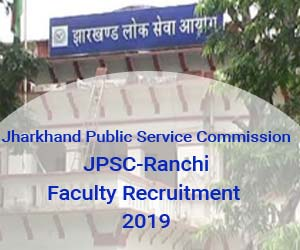 Job Opening: Jharkhand Public Service Commission, 262 vacancies for Assistant Professor, Details