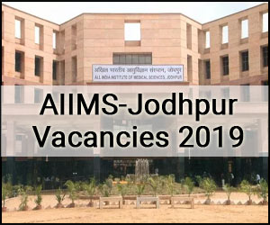 Walk-in-interview: AIIMS Jodhpur releases 40 Vacancies for Non-Academic Junior Resident post, Details