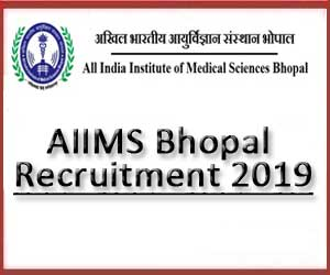 Walk in Interview: AIIMS Bhopal releases 35 vacancies for Junior Resident Post, Details