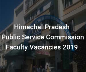 Job Alert: Himachal Pradesh Public Service Commission releases 33 vacancies for Faculty posts, Details