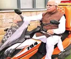 Gurugram, Faridabad to get Ambucycles: Haryana CM Khattar