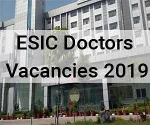 Walk in Interview: ESIC Hospital Gurugram releases 14 Vacancies for Senior Resident Post, Details