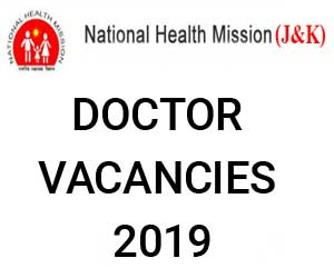 Job Alert: 222 Vacancies for Medical Officer post in J&K, Details