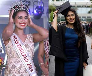 Dr Bhasha Mukharjee, a 23 year old Indian Origin MBBS doctor crowned Miss England