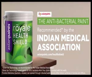 ACSI whip on IMA RECOMMENDED Paint Ad featuring Ranbir Kapoor and Deepika Padukone