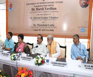 Union Health Minister lays Foundation of Sports Injury Expansion Project at Safdarjung Hospital