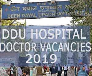 Deen Dayal Upadhyay Hospital Delhi releases vacancies for SR post, Details