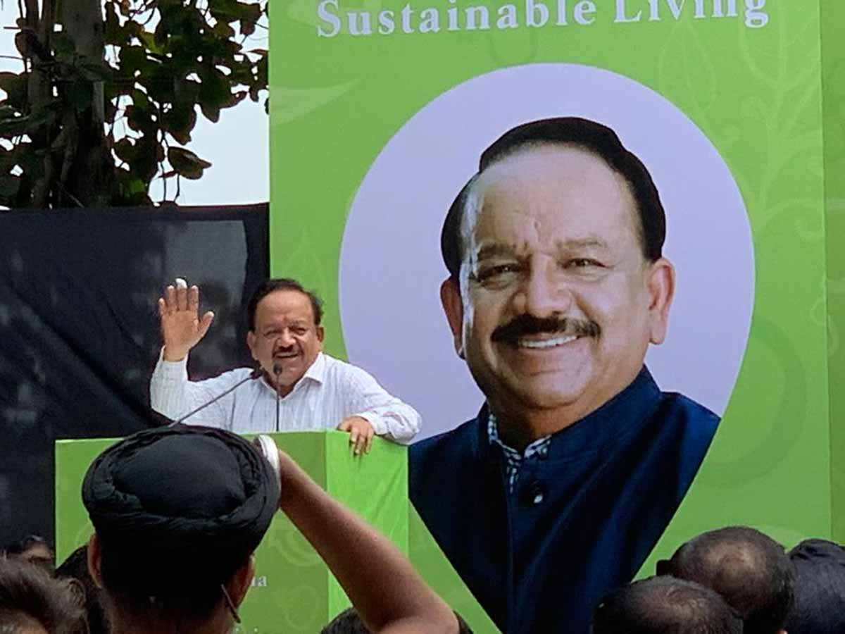 Lets make Food Sector Free of Plastic Waste: Union Health Minister Dr Harsh Vardhan