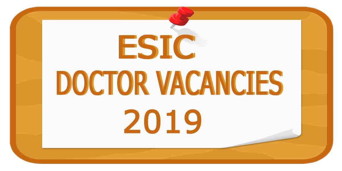 Job Alert: ESIC Hospital Delhi releases Vacancies for Faculty posts; APPLY NOW