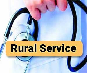 10 percent quota in MBBS, 20 percent in PG medical students for those who do Rural service: Maha Govt