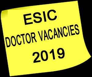 ESIC Hospital Faridabad releases Vacancies for Faculty posts; Details