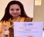 Dr RM Anjana, MD Dr Mohan's Diabetes Centre receives ICMR award for Diabetes Research in India