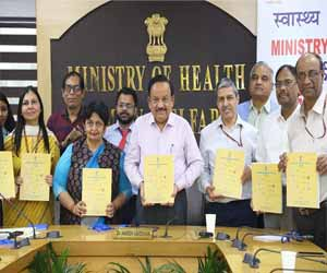 Dr Harsh Vardhan releases the 14th National Health Profile 2019