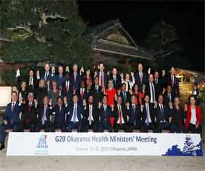 India on path to Universal Health Coverage: Dr Harsh Vardhan at G20 Okayama Health Ministers' Meeting