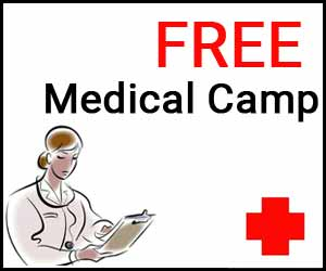 Over 100 patients registered for free medical camp in Bishnah village of Jammu