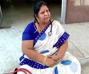 AP: Sacked from post, female RMO begins fast unto death