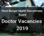 JOB ALERT: West Bengal Health Recruitment Board releases 1497 Vacancies for GDMO, BMOH Posts,