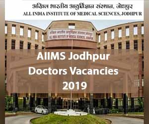 APPLY NOW: AIIMS Jodhpur releases Vacancies for Senior Resident Post in 35 Specialities